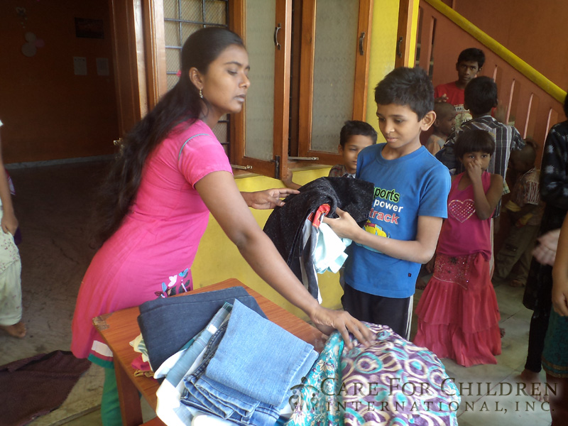 Children In India Are Excited To Receive Their New ClothesFrom-Care-For-Children-International inc 220