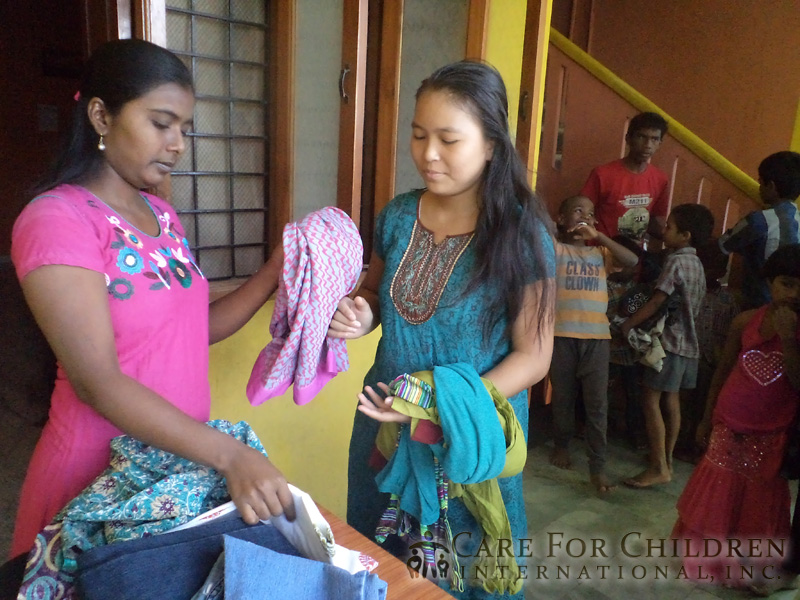 Children In India Are Excited To Receive Their New ClothesFrom-Care-For-Children-International inc 221