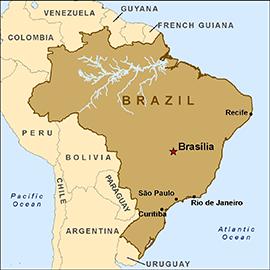 ब्राजील के बारे में आंकड़े